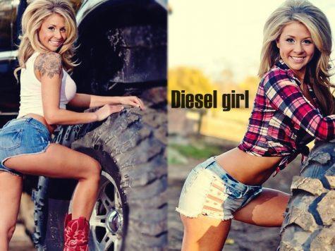 Diesel Babe Donny Lynn truck