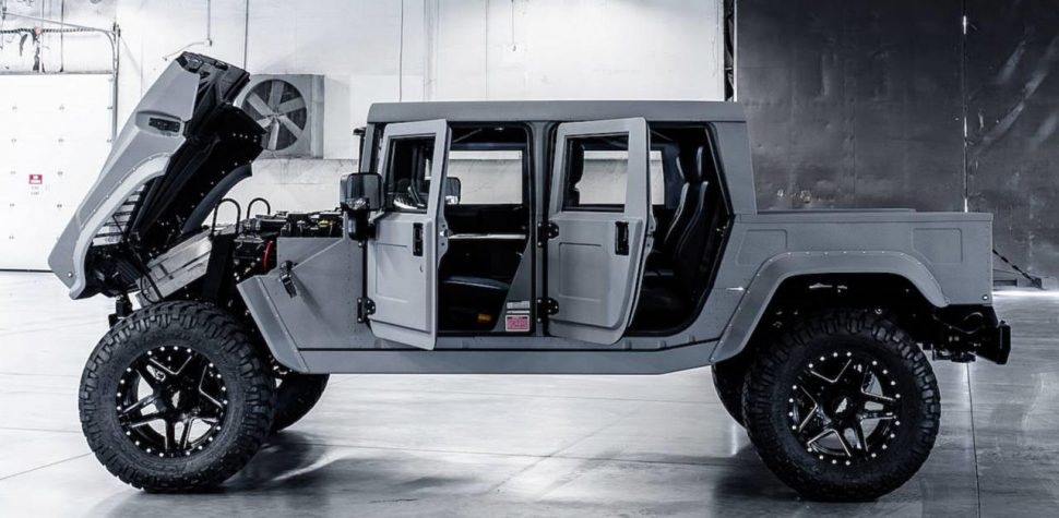 Hummer custom by Mil Spec