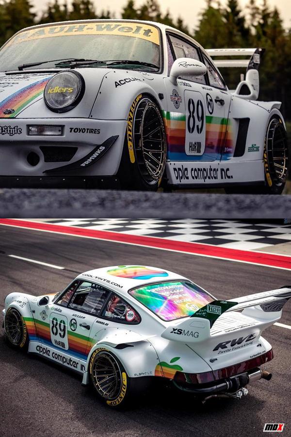 Porsche 964 911 vintage custom