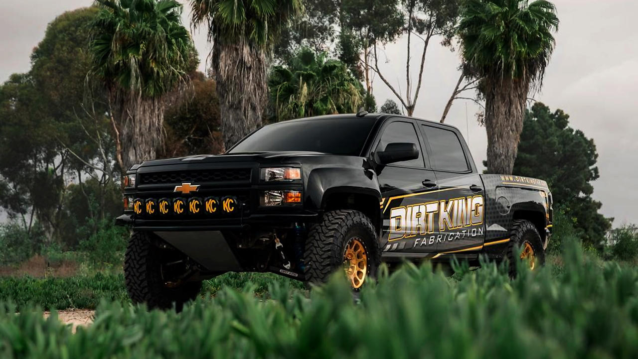 2015 Chevy Silverado 2WD Dirt King Fabrication