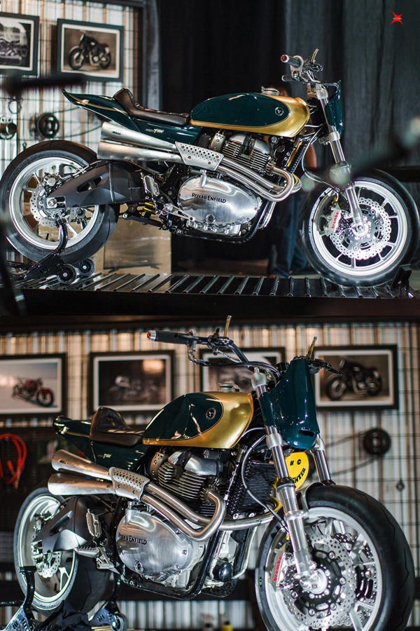 Custom Royal Enfield Interceptor T-XX by Thrive Motorcycles