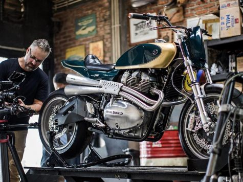 Custom Royal Enfield Interceptor T20