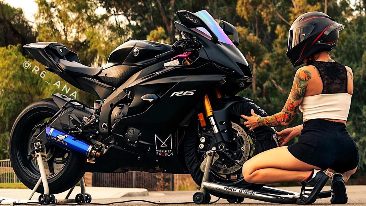 Custom Yamaha R6 2017 rider | R6_Ana - ModifiedX