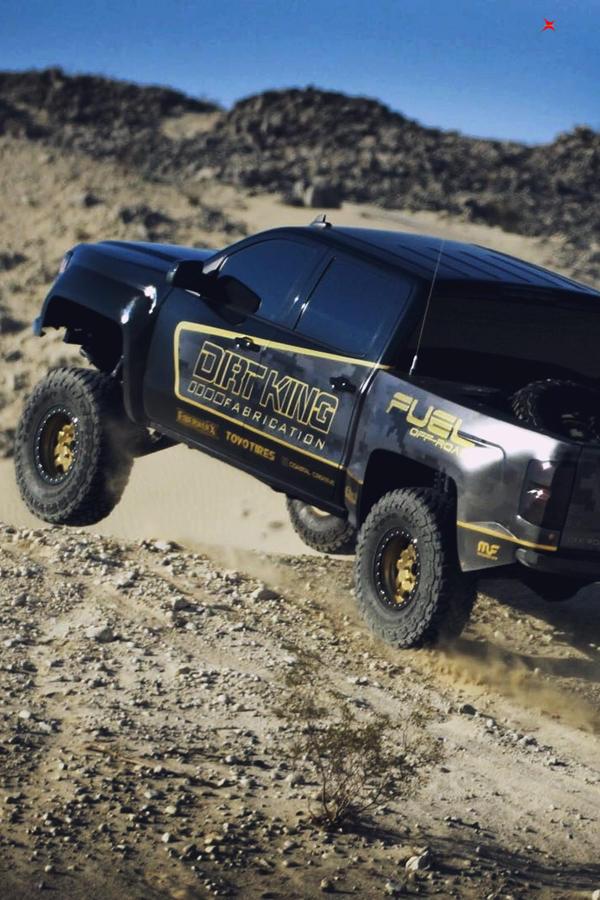 Offroad custom 2015 Chevy Silverado 2WD