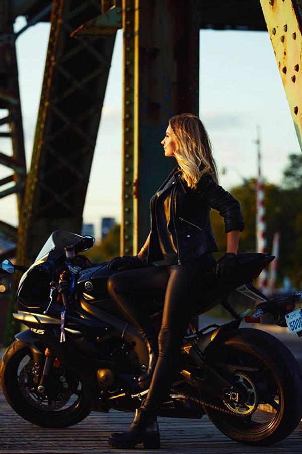 Beautiful rider girl