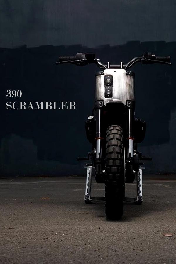 Offroad KTM Duke 390 Custom Scrambler
