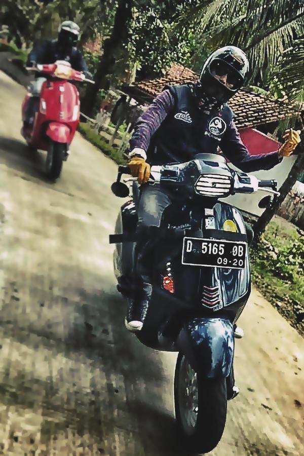 Vespa riders modifikasi