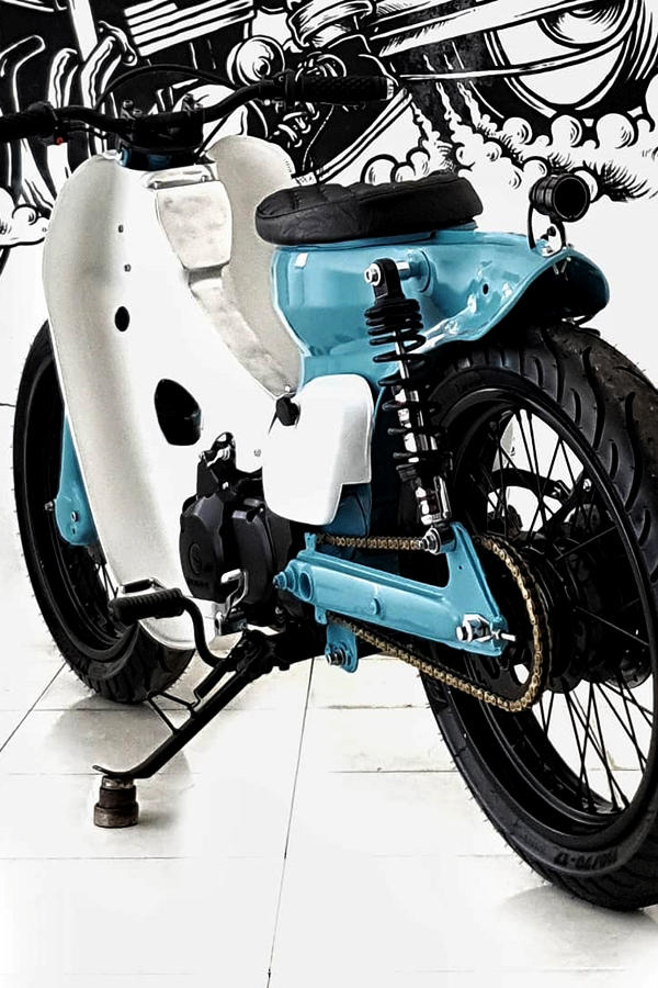 Custom Honda Supra X125 Scooter