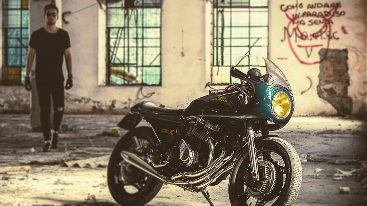 Honda CBX550 Custom Cafe racer
