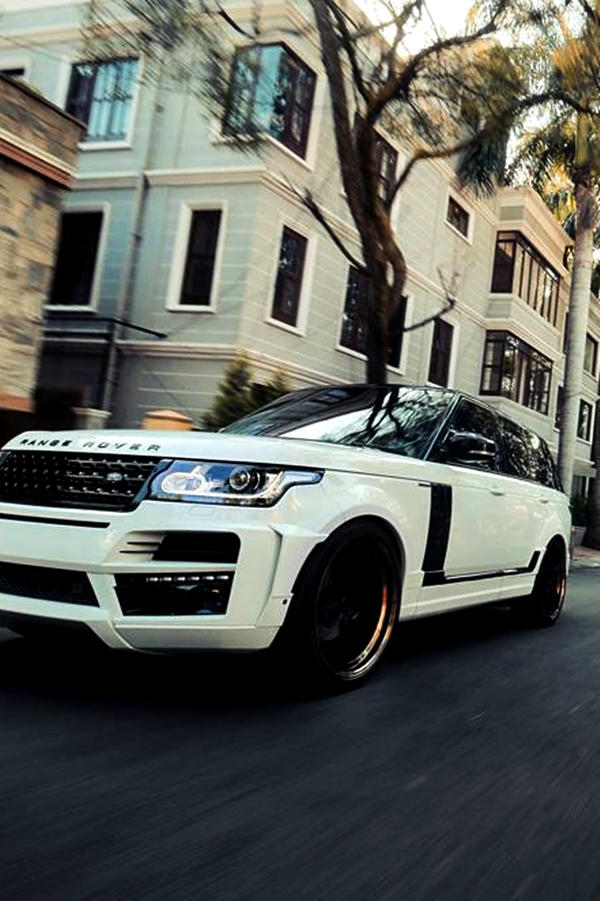 Custom Range Rover ride