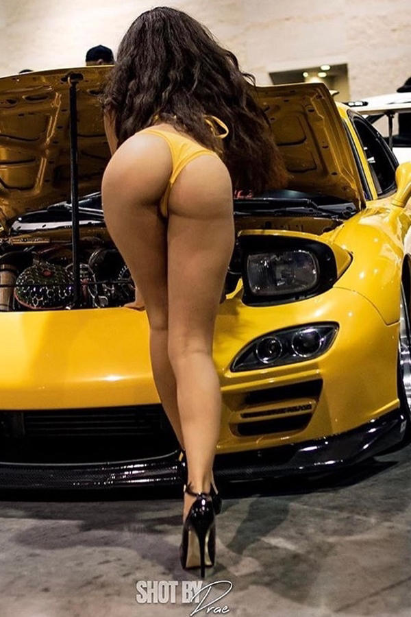 Hot girls and cars