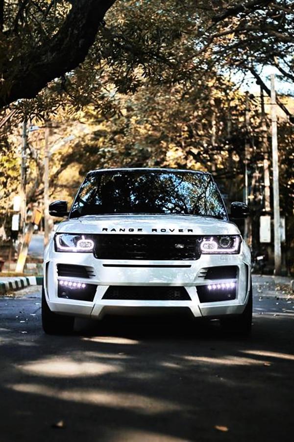 Range Rover SUV custom