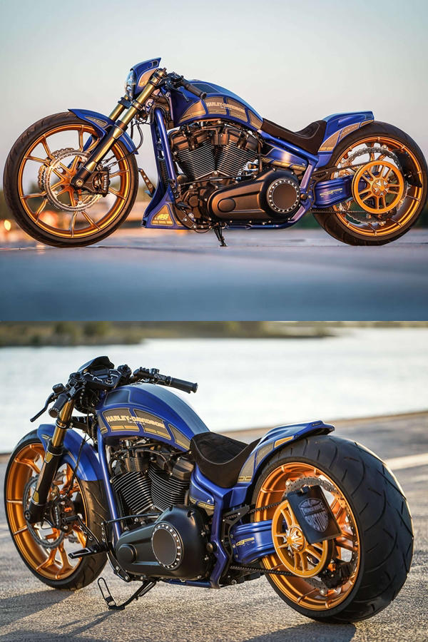 Thunderbike Custom Harley Davidson Breakout 'Mugello' - ModifiedX