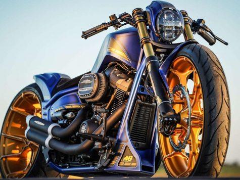 Custom Thunderbike Harley-Davidson Breakout Mugello 1