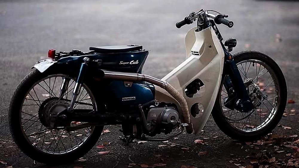 Extended Honda Super Cub Custom