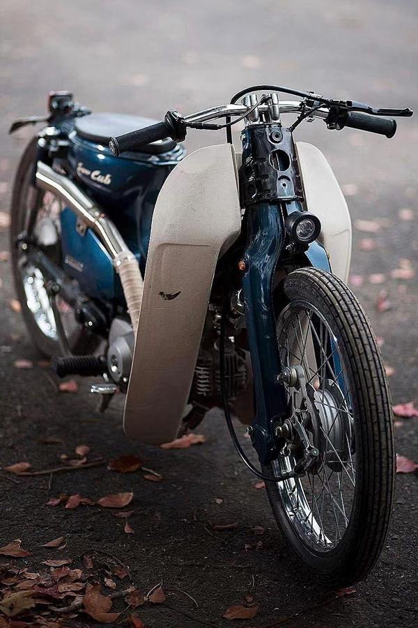 Customised Honda scooter