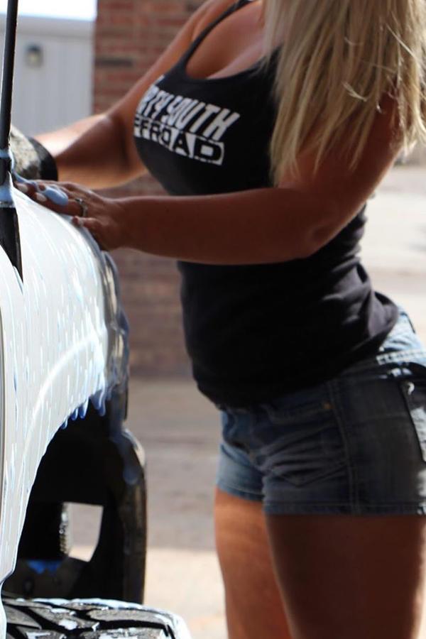 hot car wash girl
