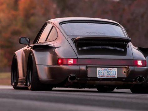 Porsche 911 ride