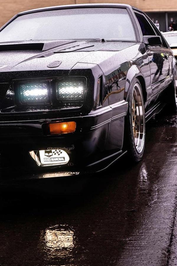 Vintage custom Mustang