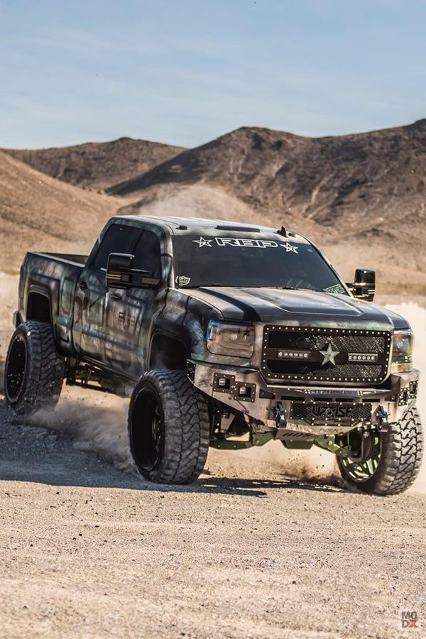 Offroad lifted truck