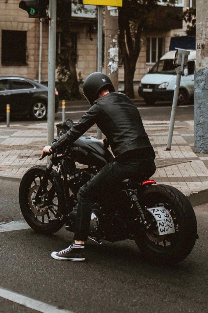 Harley hog rider