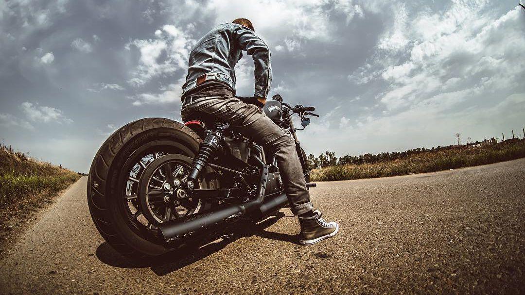 Custom Harley Dividson Hog