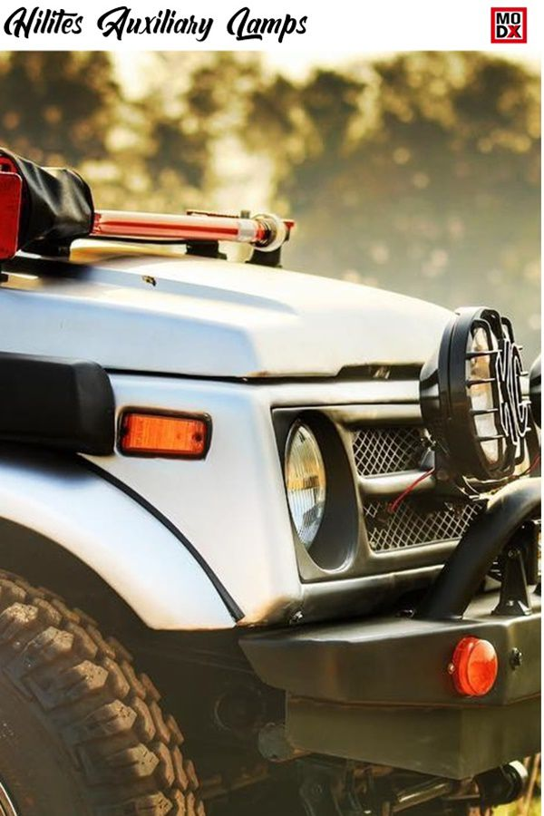 Auxiliary lights for SUV