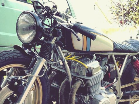 Cafe Racer Honda pictures