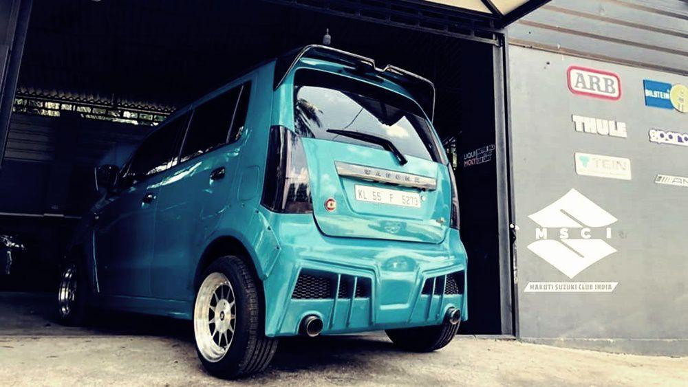 Wagon R body kit mod rear