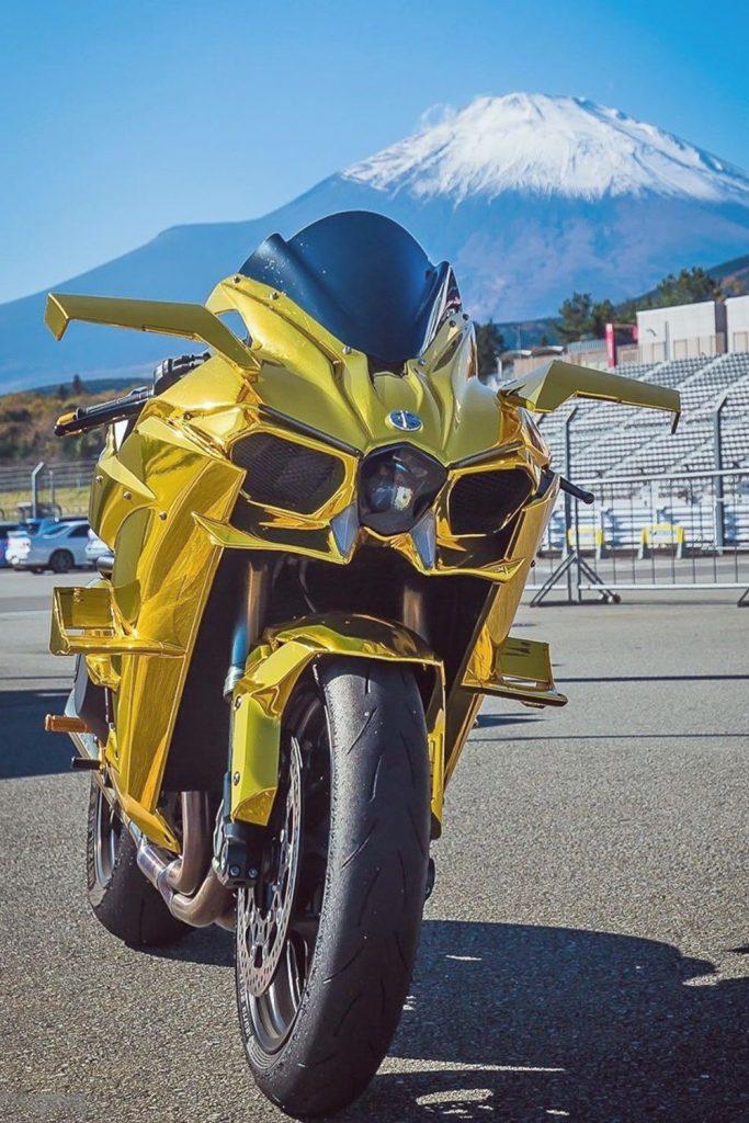 ninja h2 gold
