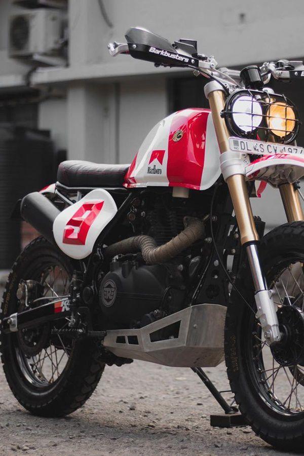 Custom tracker bike