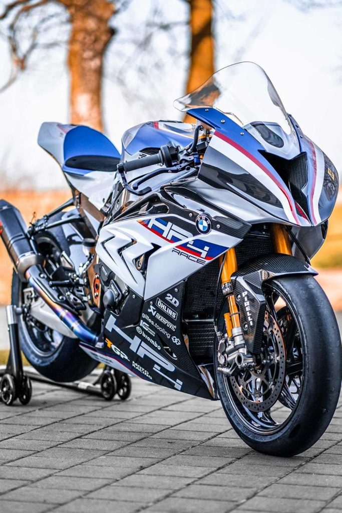 BMW HP4 track hyperbike wallpaper