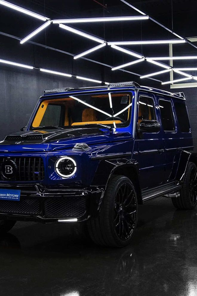 Modified G700 G Wagon by Brabus