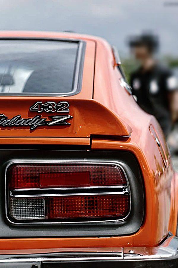 tailight of classic nissan z car