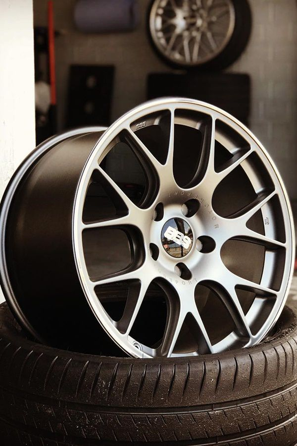 Forged BBS alloy wheels