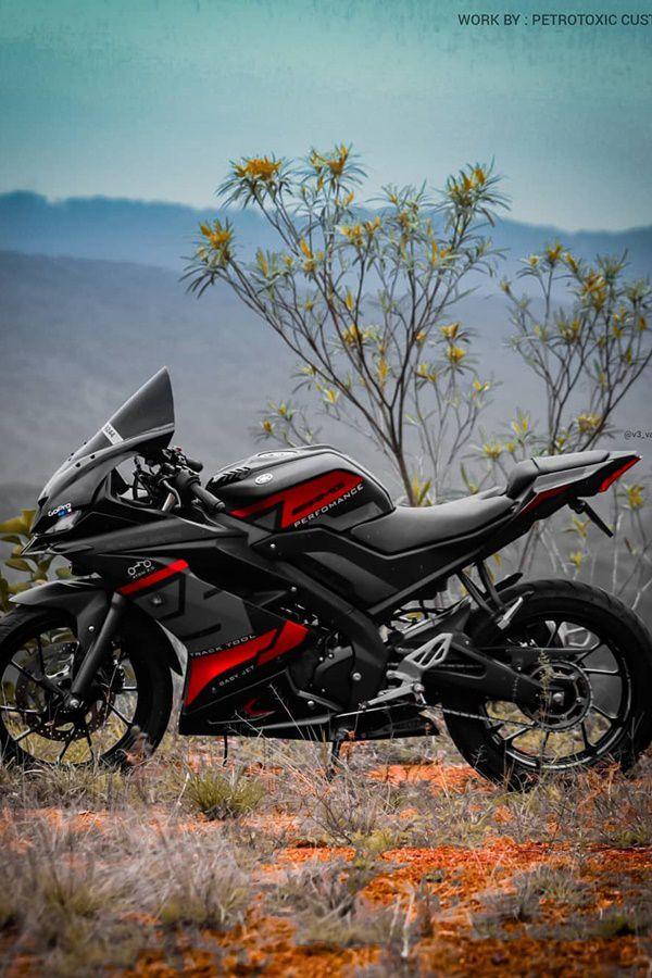 Yamaha R15 V3 custom decals