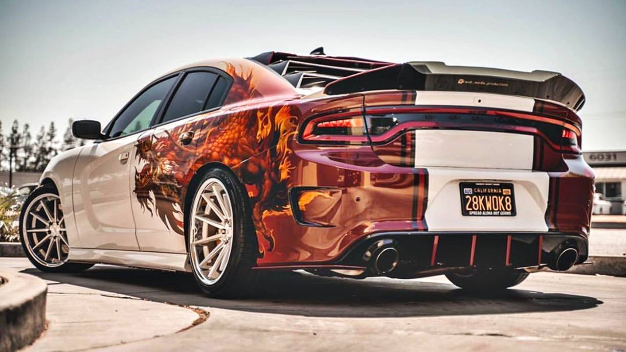Custom Dodge Charger Has The Fire Modifiedx