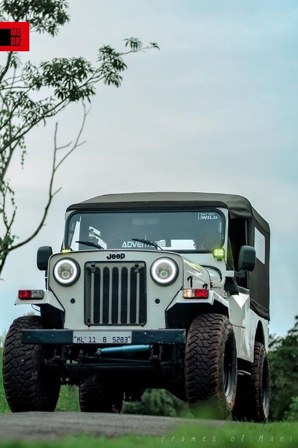 Old Jeep modified
