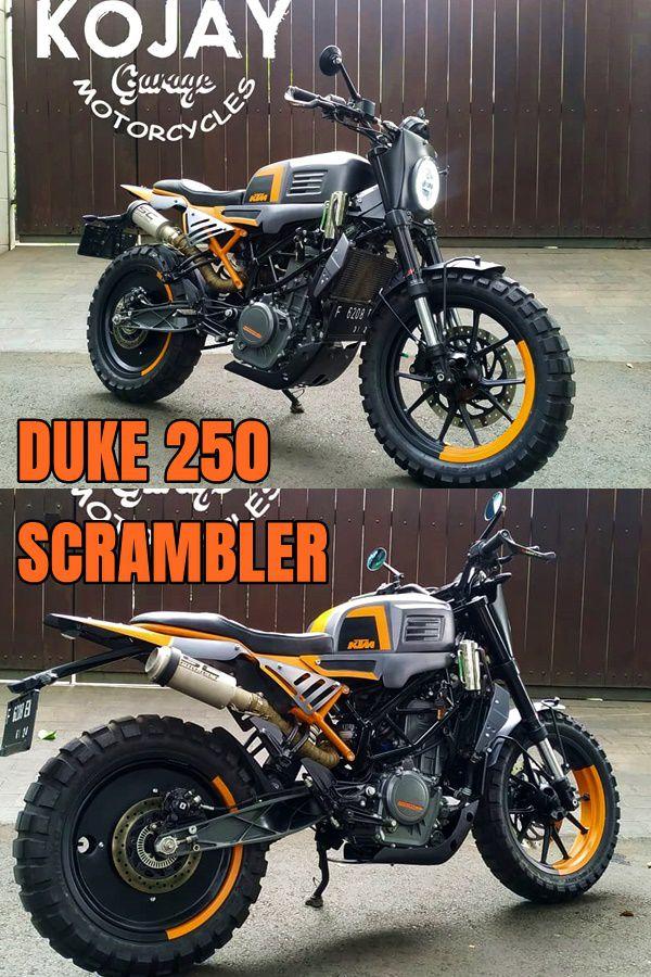 Duke 250 Scrambler