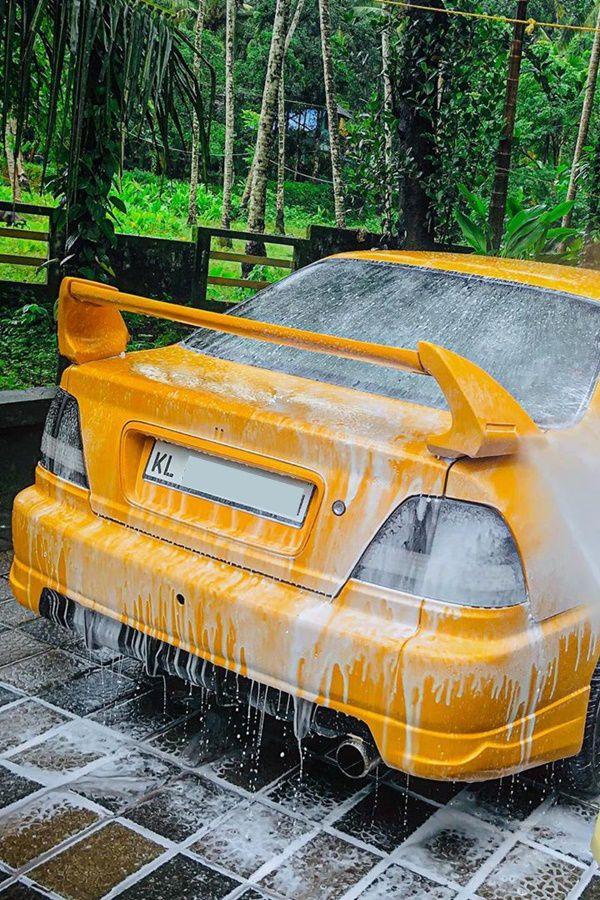 Honda City modified rear