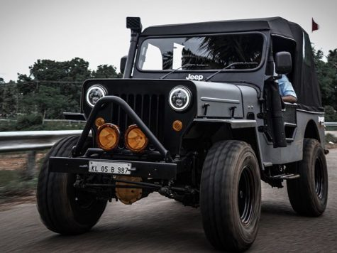 Modified Mahindra offroad Jeep