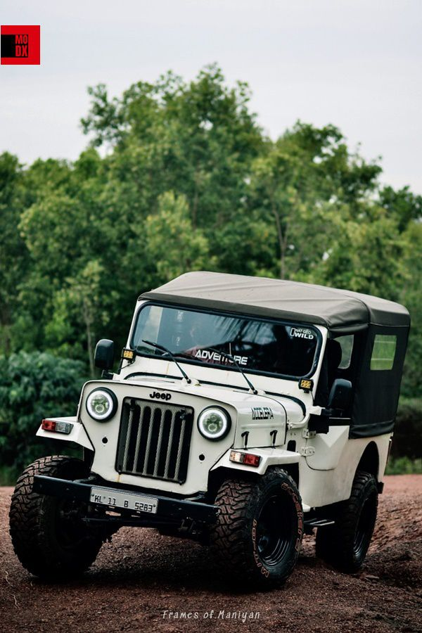 White offroad jeep