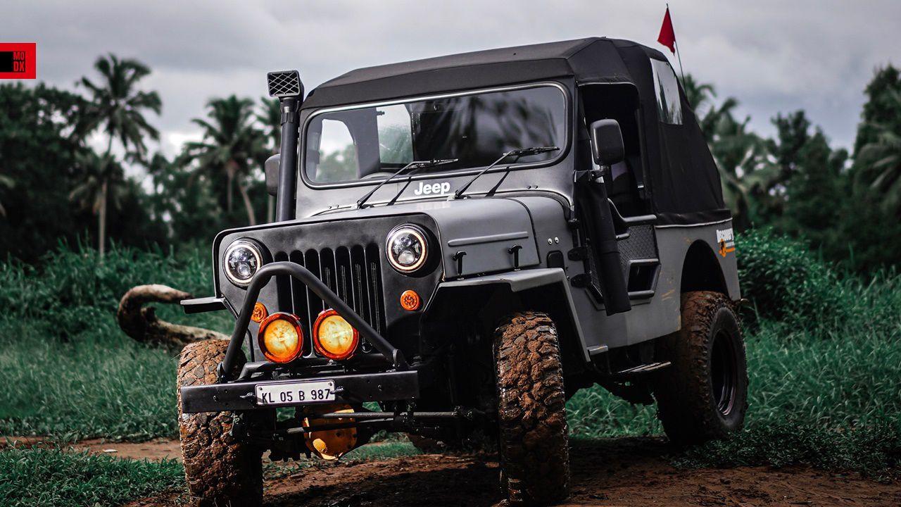 Modified Major International Jeep