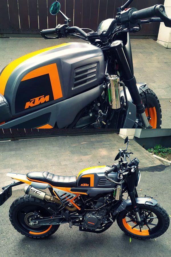KTM Duke 250 modified
