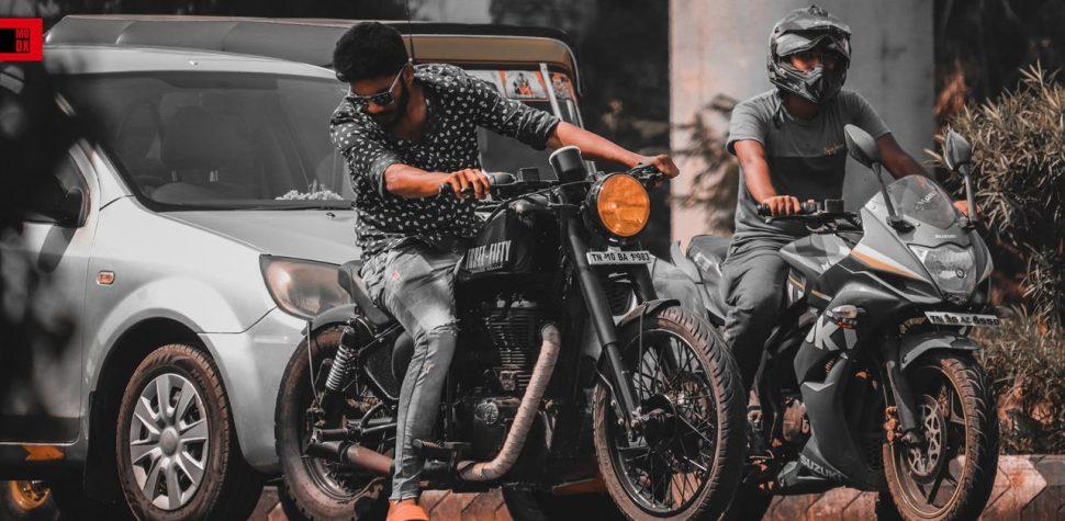 Classic 350 rider
