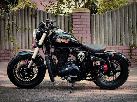 custom sticker royal enfield classic 350