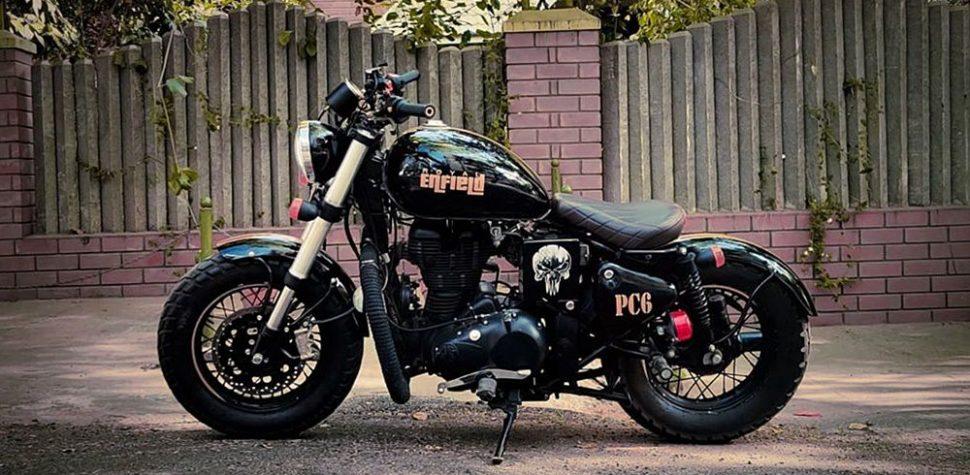 custom sticker royal enfield classic 350