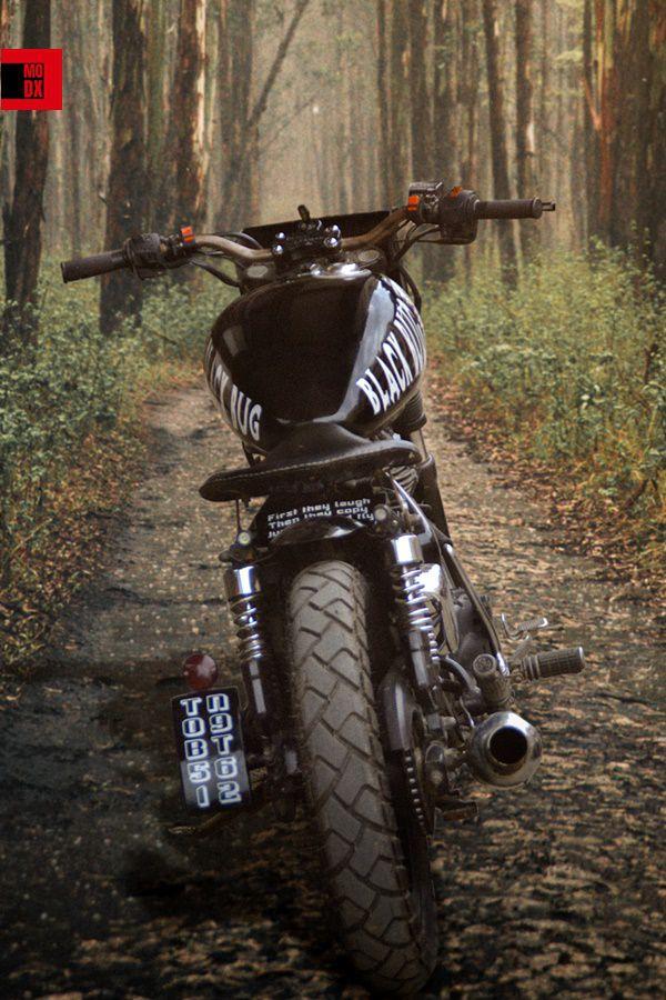 TB350 rear