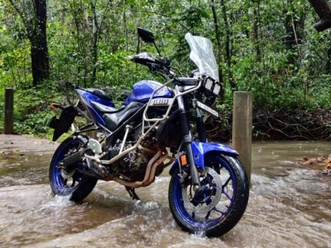 Yamaah R3 Adventure bike