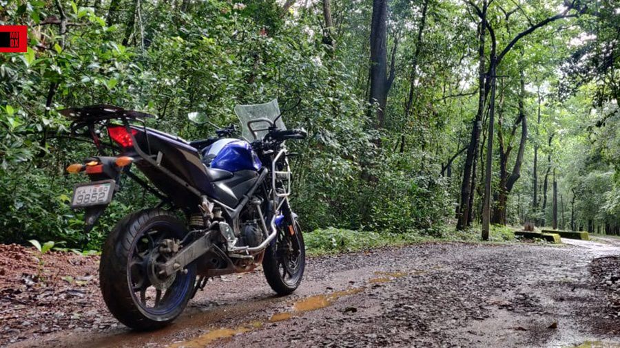 Sportsbike to Adventure